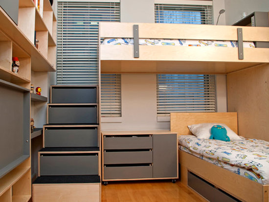 2 kids 1 small room the solution nycdumplingmamas - Childrens small bedroom furniture solutions ...